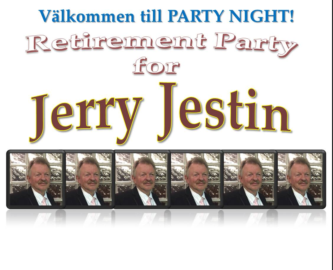 Jerry retirement party